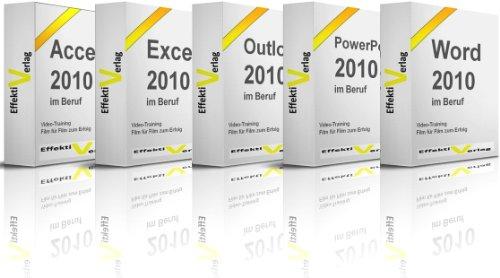 Microsoft Office 2010 im Beruf, Video-Training, mit Access, Excel, Outlook, PowerPoint und Word in Full-HD auf DVD [HD DVD]