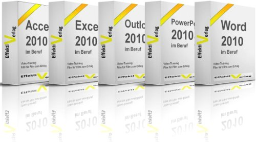 Microsoft Office 2010 im Beruf, Video-Training, mit Access, Excel, Outlook, PowerPoint und Word in Full-HD auf DVD [HD DVD]