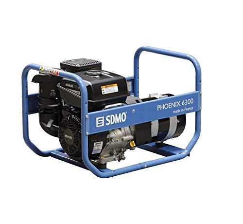SDMO, Grupo Electrógeno Monofásico, Gama Phoenix, Motor Kohler, 6500 W