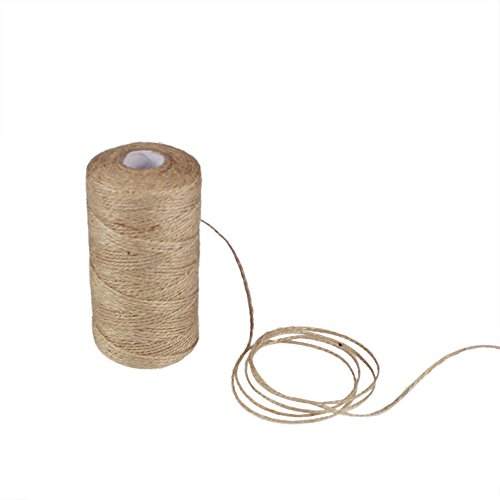 edgeam 3/x 164/de soporte//50/m cuerda de yute natural cordel de yute yute cinta de yute Cordeles 2/mm Deko cordel para del paquete, DIY, manualidades, Jard/ín, Schwarz + Rot + Gr/ün, 1PC