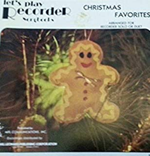 Let's Play Recorder Songbooks: Christmas Favorites, Arranged for Solo or Duet