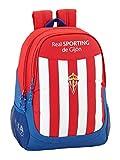 Safta Mochila Escolar Real Sporting De Gijon Oficial 320x160x440mm