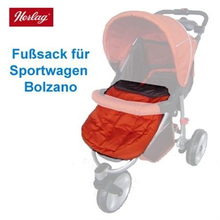 Herlag Fußsack H9527 für Sportwagen Bolzano Farbe: