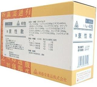 【第2類医薬品】強衰性散 60包