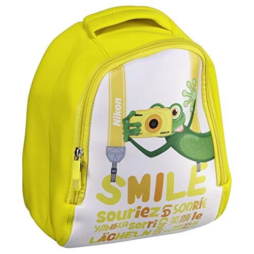 Nikon Backpack Yellow Rucksack Gelb - Kamerataschen/-Koffer (Rucksackhülle, COOLPIX, Schultergurt, Gelb)