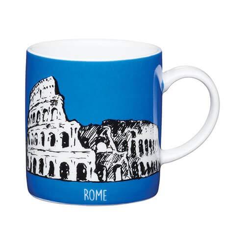 Kitchen Craft Rome - Taza de café (porcelana), color