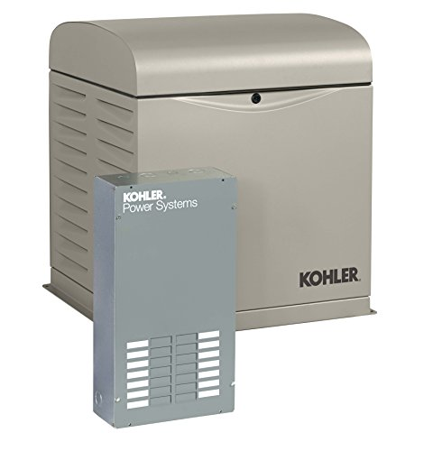 KOHLER Generators 12RESVL100 Amp Standby Indoor Generator, 12-Space with Load Center Automatic...