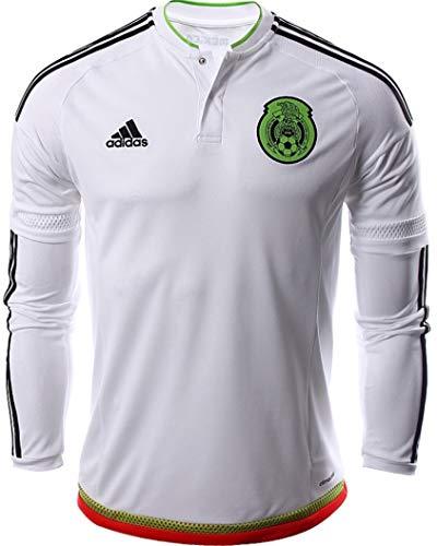 Adidas Jersey de la Selección de Mexico Manga Larga Version Jugador Adizero Talla Mediana 6 (M)