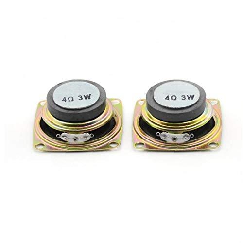 CULER 2Pcs / Lot 2 Zoll 4 Ohm 3W 52MM Audiolautsprecher Full Range Multimedia-Lautsprecher DIY Mini-Stereo-Box Zubehör