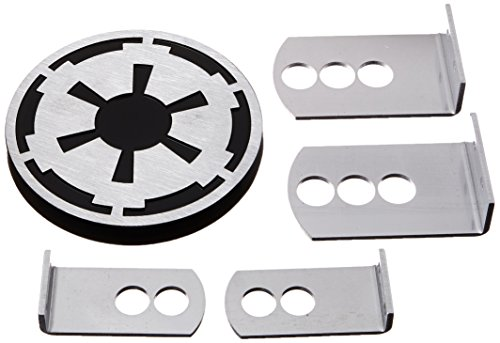Plasticolor 002281R01 Star Wars Empire Imperial Symbol Hitch Cover, 1 Pack