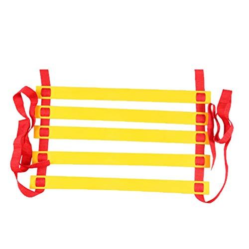 CPY Escalera de Agilidad,Escalera de Entrenamiento,Deportes Equipo Entrenamiento Funcional,para Entrenamiento de coordinación, fútbol y Baloncesto