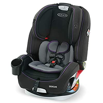 Graco Grows4Me 4 in 1 Car Seat, Infant to Toddler Car Seat with 4 Modes, Vega by Graco Baby