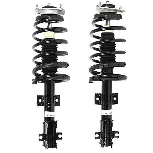 ECCPP Complete Struts Spring Assembly Front Struts Shock Absorber Fit for 2003-2014 for Volvo XC90 Set of 2