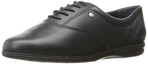 Easy Spirit Women's ESMOTION8 Oxford Flat, Navy, 9 M US