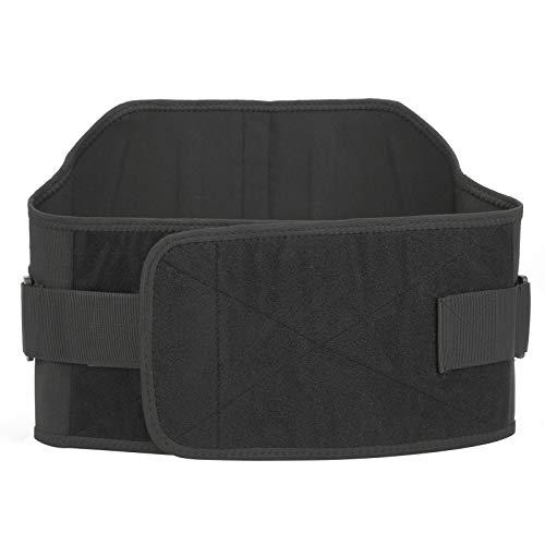 DAUERHAFT Soporte Lumbar elástico Cinturón de Soporte Lumbar Soporte de Cintura Ajustable para Jugar Baloncesto