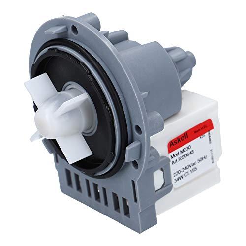 LUTH Premium Profi Parts Ablaufpumpe Pumpe Laugenpumpe für AEG Electrolux 1240180065 Privileg Juno Zanker Zanussi