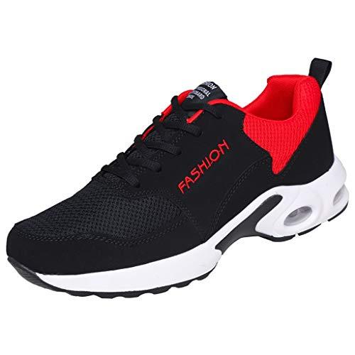 SUGEER Laufschuhe Unisex Sportschuhe Atmungsaktive Sneaker Freizeitschuhe Turnschuhe Leichte Fitnessschuhe Leichte Schuhe Fitness Sneaker für Running Gym Outdoor Jogger Sneaker