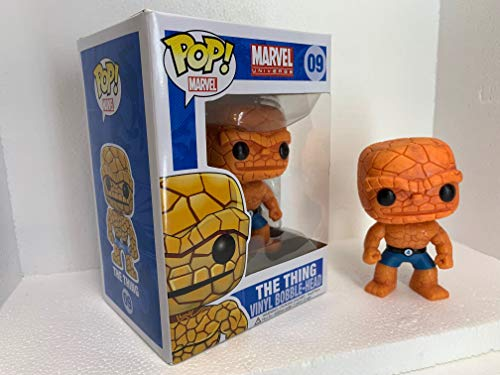 """Funko Marvel The Thing 3.75"""" Pop Rare & Discontinued image"""