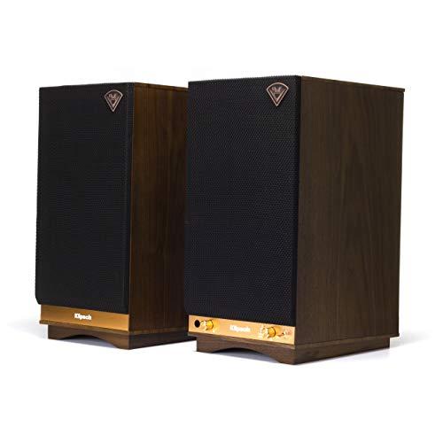 Klipsch 1063288'The Sixes Heritage Powered Wireless Lautsprecher walnuss