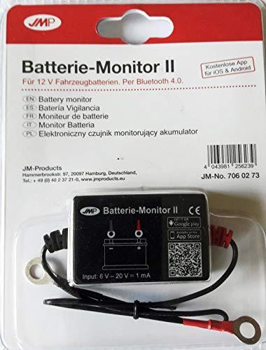 JMP Batterie Monitor II mit Bluetooth für Smartphone mit App