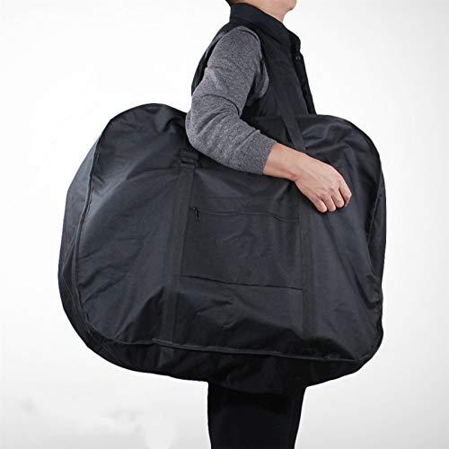 Fundas Bolsa Bicicleta plegable Lleve Bag Bicycle Scooter plegable Caja de transporte Cubiertas de almacenamiento Ciclo Carry Bolso Paquete de hombro Accesorios Almacenamiento ( Color : Black 14inch )
