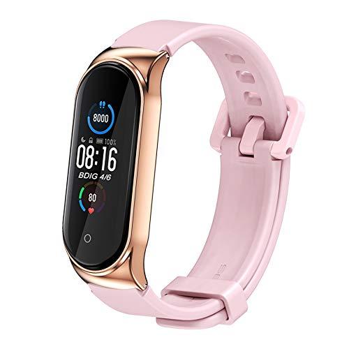 BDIG Armband Ersatz für Xiaomi Mi Band 5 Mi Band 4, Bunte Sport Soft Silikon Armband Smartwatch Armband Straps für Xiaomi Mi 3/4/5 Smart Armband