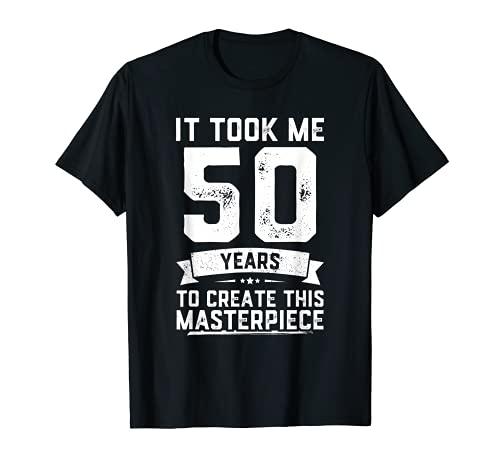 Funny 50 Years Old Joke T-Shirt 50th Birthday Gag Gift Idea T-Shirt