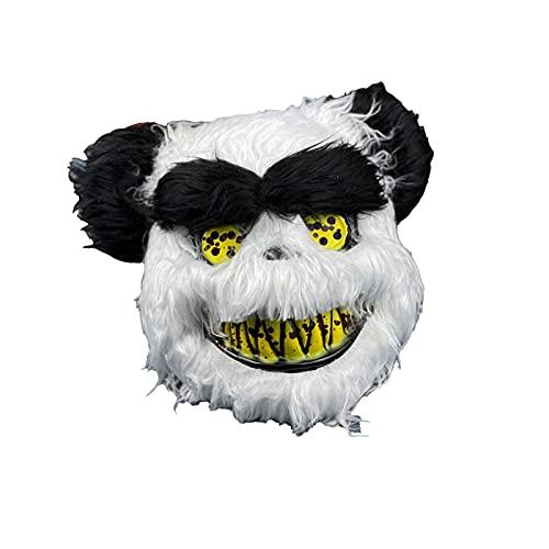 LXFENG Conejito de Miedo de Halloween, Bungee Peluche Mask Mascarilla de Miedo, Photo-Tomar máscara sangrienta, Masquerade Party Performance Props animal3-20x33cm