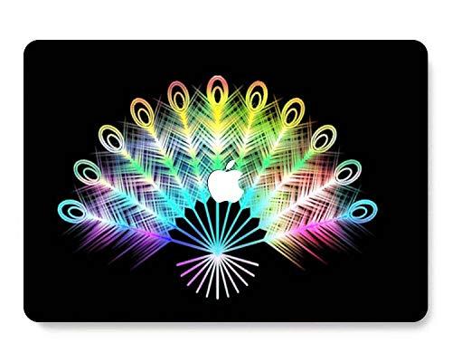GangdaoCase Carcasa rígida de plástico ultra delgada y ligera, diseño recortado para MacBook Pro 13 pulgadas Retina Display No CD-ROM A1425/A1502 (Colorido B 77)