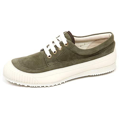 Hogan E8990 Sneaker Donna Green H258 Traditional Scarpe Verde Suede Shoe Woman [38]