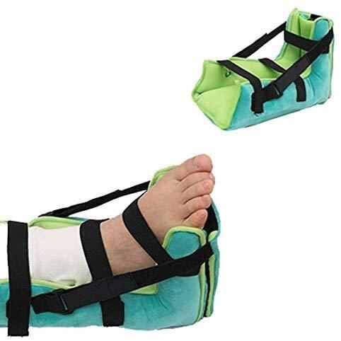 Ortesis Tacón de la bota del protector del amortiguador, talón protector, anti-escaras talón del cojín, Alivio de Dolor de la úlcera de presión y el talón eficaz, transpirable de alta elástico