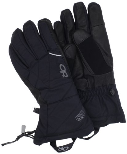 Outdoor Research Men's Southback Gloves, Black, X-Large