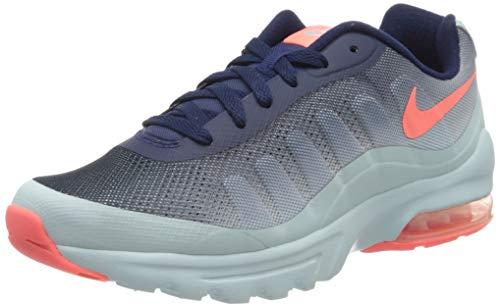 Nike Damen W AIR MAX Invigor Print Sneaker, Blau (Binary Blue/Lava Glow/Glacier Blue), 40 EU