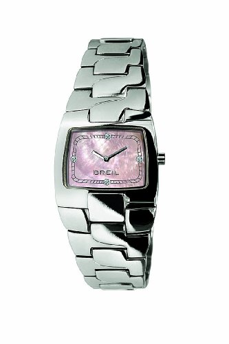 Breil Ocean orologio al quarzo con display analogico rosa e rosa in acciaio INOX TW0705
