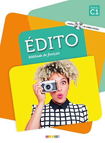 Edito C1 Livre + DVD - 3ª Ed: Livre C1 + DVD-Rom + livre numerique