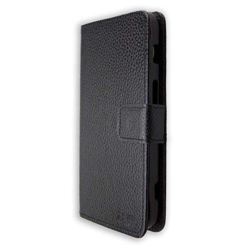 caseroxx Bookstyle-Hülle für Doro 8040/8042, mit & ohne Bildschirmschutz (Bookstyle-Tasche, schwarz)