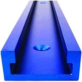 Auartmetion -Verktyg, 1 st T-spår standard aluminium spår geringsspår jigg fixtur för routerbord bandsågar träbearbetnings...