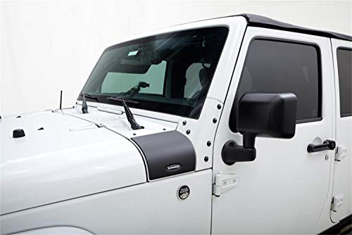 Bushwacker 14015 Trail Armor Cowl Cover Jeep Wrangler 07-17, Pair
