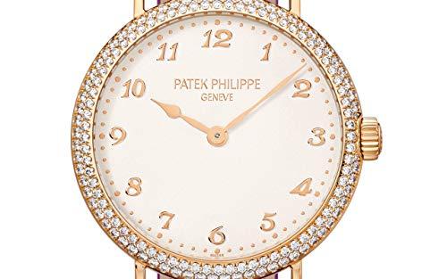 Patek Philippe Calatrava Rose Gold 7200-200R-001 with Silvery Graineddial