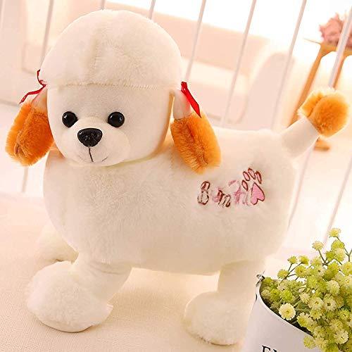 Uymkjv Peluches de caniche, muñecos de caniche, Almohadas, muñecos de Perros Grandes, muñecos, Regalos de cumpleaños para Amigos y niños