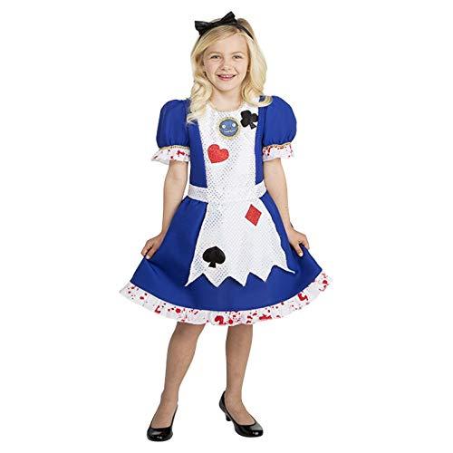 Fairytale Halloween Costume Disfraz de Alicia en el País de las Maravillas