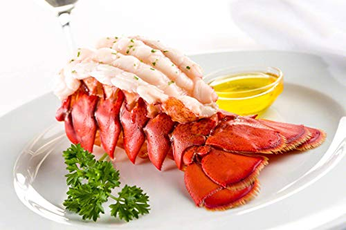 Maine Lobster Now - Maine Lobster Tails 8oz - 10oz (6 Tails)