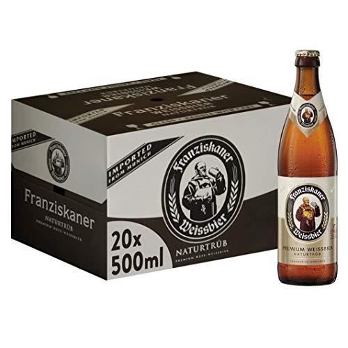 Franziskaner Hell Birra, Bottiglia - Pacco da 20 x 500 ml (10 litri)