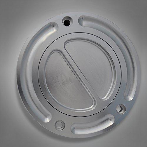 S403 RicambiWeiss Tankdeckel Motorrad Aluminium gefräst neu Kawasaki ER-6F, ER-6N, GTR 1400, Versys 650 1000