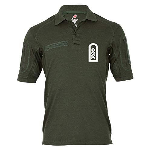 Copytec Tactical Poloshirt Alfa - OStFw Oberstabsfeldwebel BW Dienstgrad OSF Oberstaber Spieß #18957, Größe:XXL, Farbe:Oliv