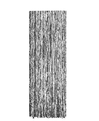Toyland Silver Lametta Christmas Decoration - Angel Hair Tinsel - Shredded Tinsel