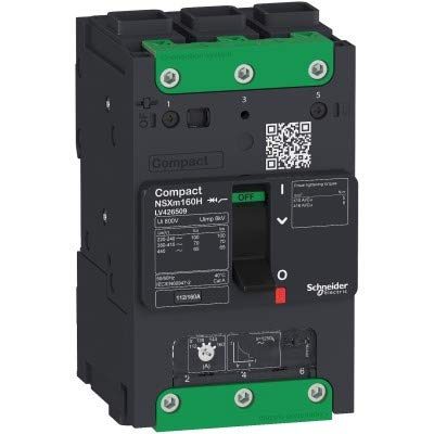 Interruptor NSXm 25kA TM125D 3P Elink marca SCHNEIDER