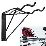 TORACK Bike Rack Garage, Bike Wall Mount for Indoor Space-Saving, Two Bike Parking Storage Rack Heavy Duty Holds Up to 100lbs