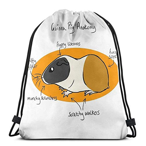 XCNGG Gulf Horizontal Stripe Waterproof Foldable Sport Sackpack Gym Bag Sack Drawstring Backpack