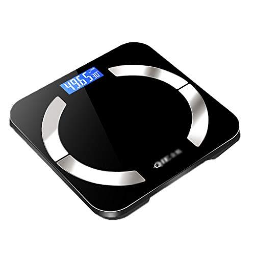 Weegschaal gewicht meter impedantie meter lichaamsvetweegschaal USB oplaadbare digitale bad draadloze verzending vriendin 180kg Smart